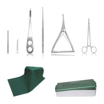 Zestaw narzędzi do operacji łąkotki