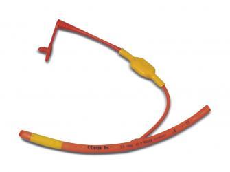 Rurki intubacyjne RÜSCH z czerwonej, miękkiej gumy z balonem kontrolnym