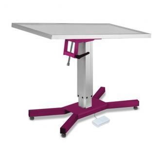 Stół zabiegowy i operacyjny - X Base z podnośnikiem elektrycznym, kolory
