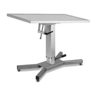 Stół zabiegowy i operacyjny - X Base z podnośnikiem hydraulicznym, kolory