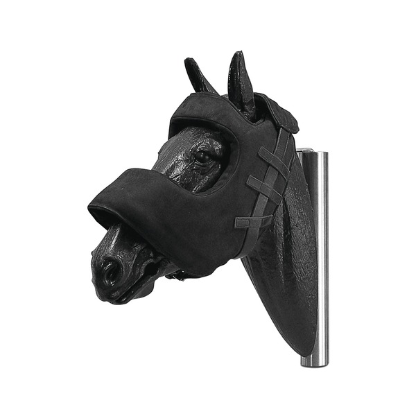 Ochraniacz na łeb konia, skórzany