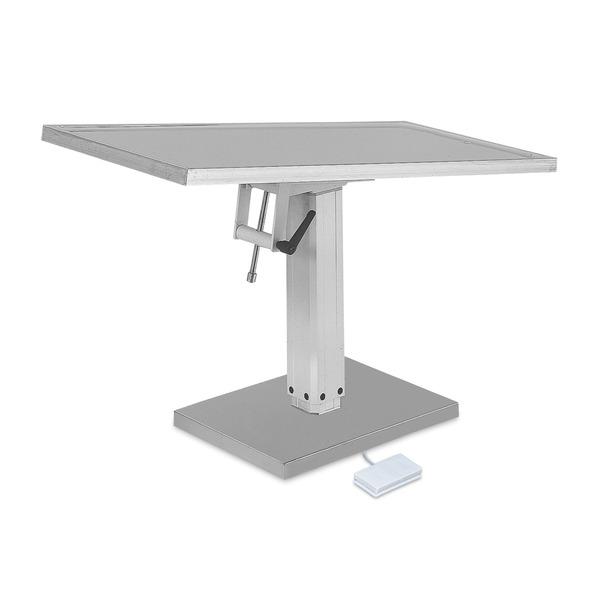 Stół zabiegowy i operacyjny z elektrycznym podnośnikiem